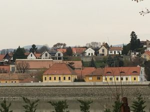Rosinante fogadó: Szentendre latkep a Szentedrei-szigetrol