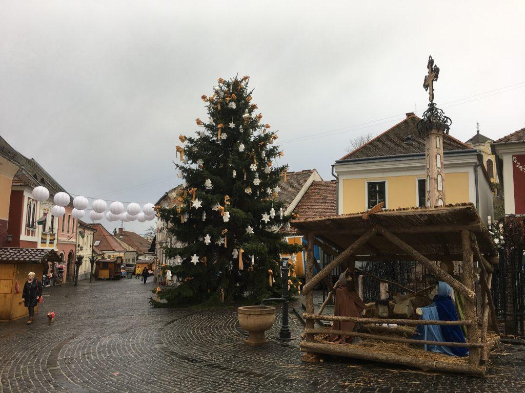 Szentendre karácsonyi vásár Betlehem