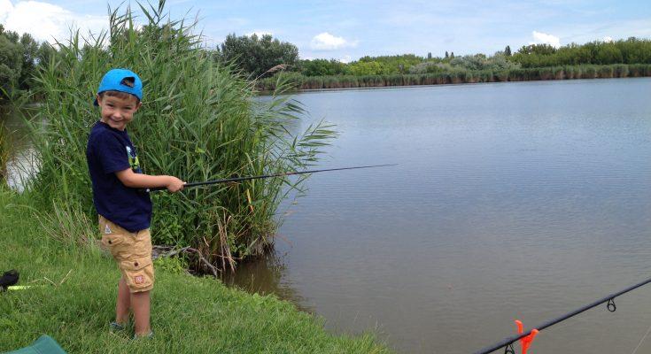 horgászat gyerekekkel