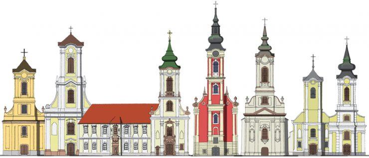 Szentendre templomai, tornyai
