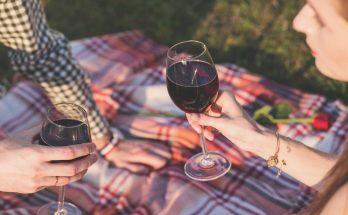 kockas piknik roze ünnep